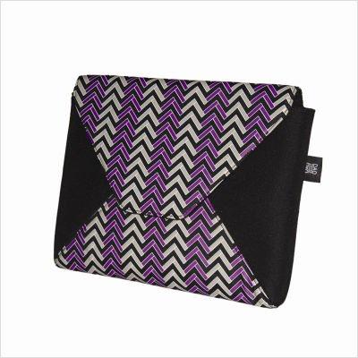 Nuo Tech Chloe Dao Envelope Clutch Style Sleeve-Pattern: Herringbone