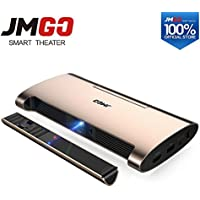 Portable Android 7.0 Projector M6. 200 ANSI Lumens, Support 4k, 1080P Decode. Set in WIFI, Bluetooth, HDMI, USB, Laser Pen