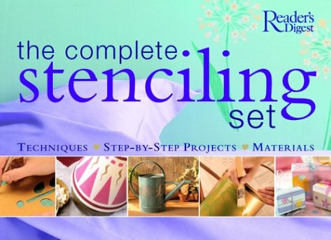 The Complete Stenciling Set by Brand: Readers Digest