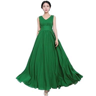 Plus Size Green Formal Dress