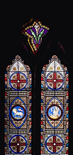 David Stained Glass Print (Stained Glass Windows Poster Print by David Chapman / Design Pics (22 x 34))