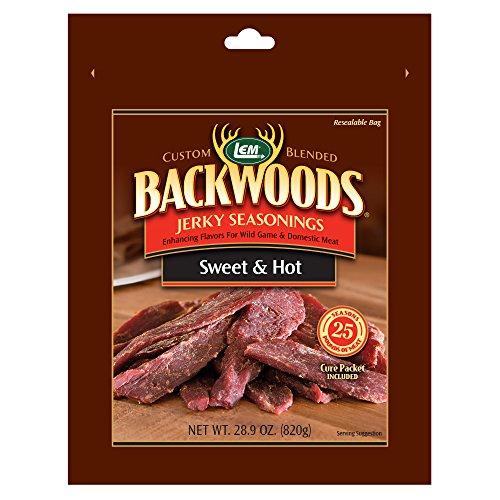 LEM Products 9144 Backwoods Sweet & Hot Jerky Seasoning (25 Lb) (Seasoning Hot Jerky)