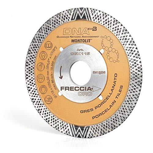 Montolit Disque diamant/é DNA EVO3/CGX115 115/mm,/couronne continue Freccia Oro