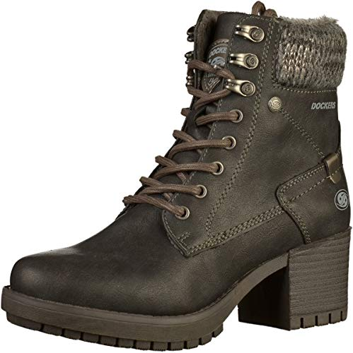 Booties Womens Dockers 41CH307 41CH307 Dockers Black wI4SzB