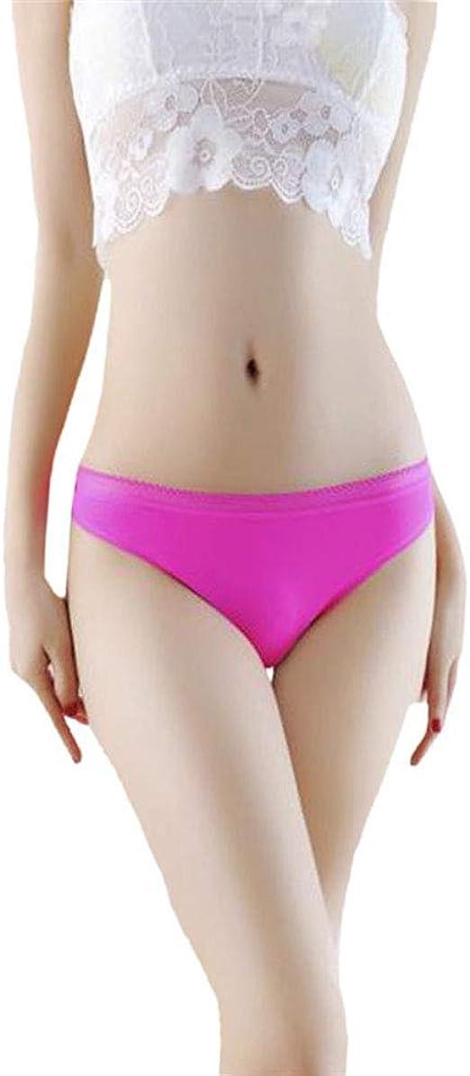 Luxury Women Underpants Seamless Ice Silk Soft Briefs Hipster Panties Underwear