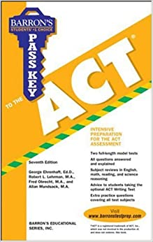 Pass Key to the ACT (Barron's Pass Key)
