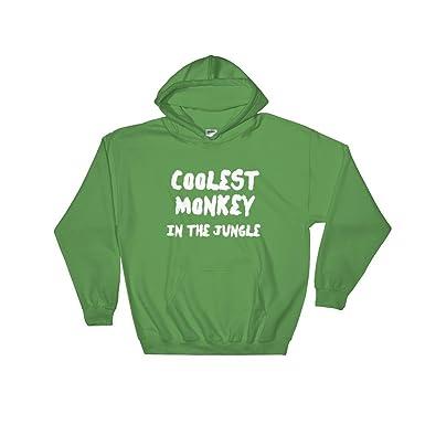 Gildan 18500 Heavy Blend Hooded Sweatshirt 'Coolest Monkey In The Jungle'  Hoodie HM Weeknd