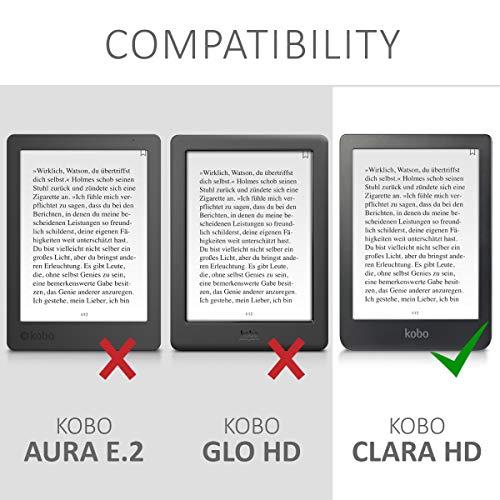 kwmobile Funda para e-Reader Kobo Clara HD: Amazon.es: Electrónica