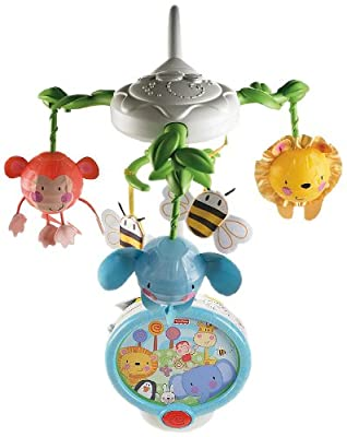 Fisher-price Discover N Grow Twinkling Lights Projector Mobile from Fisher-Price