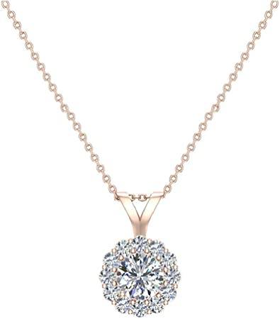 Vintage 14KT White Gold V Shaped Genuine Pearl /& Diamond Pendant