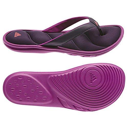 7e2ff7bac85e89 Adidas Chilwyanda Fitfoam Flip-Flops - Dark Violet (Women) - 7 ...