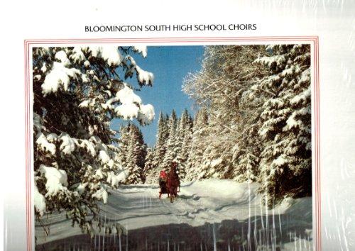 Bloomington Indiana South High School Choirs - Songs of Christmas - Vinyl LP - Mall Bloomington