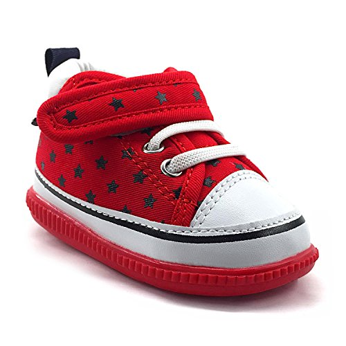 - Z-T Future Squeaky Shoes for Baby Boys Girls Anti-Slip Soft Rubber Sole Canvas Sneakers