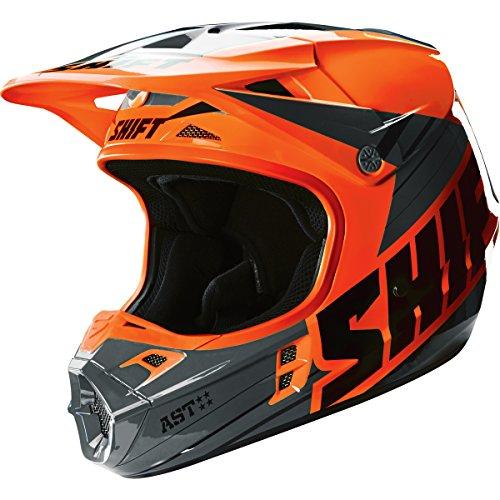 - Shift Racing Assault Men's Off-Road Motorcycle Helmets - Orange / Large