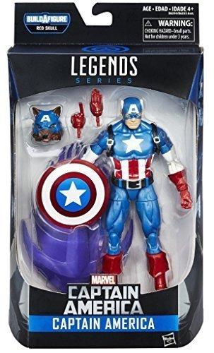 "Marvel Legends 2016 Captain America Red Skull Onslaught - CAPTAIN AMERICA 6"" Action Figure"