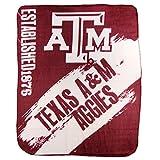 The Northwest Company NCAA Collegiate School Logo Fleece Blanket (Texas A&M Aggies, 50' x 60')