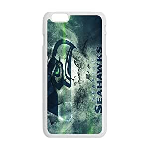 SKULL Seattls Seahawks Hot Seller Stylish Hard Case For Iphone 6 Plus