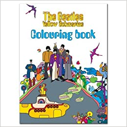The Beatles Colouring Book - Yellow Submarine Sgt Pepper Lennon ...