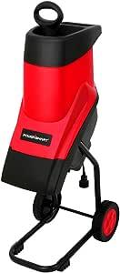 PowerSmart PS10 15-Amp Electric Garden Chipper/Shredder with Safety Locking Knob