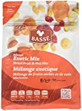 12 Pack Exotic Trail Mix from Basse Nuts, 12 Pack of 7oz bags, Selected Exotic Mix Dried Fruit, Craisin and Nut Mix, with Dried Cranberries, Peanuts, Almonds, Macadamia Nuts, Brazil Nuts & Cashews
