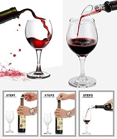 Cooko Abridor de Vino,Abrebotellas Sacacorchos,Set de Accesorios,9 Piezas