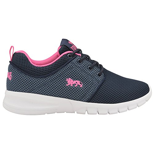 Lonsdale Ladies 2 Womens Trainers Navy Mint Sivas rw7rzS