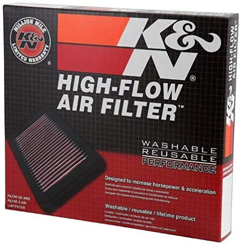 K/&N High Flow Replacement Air Filter 33-2850 K and N Original Performance Part