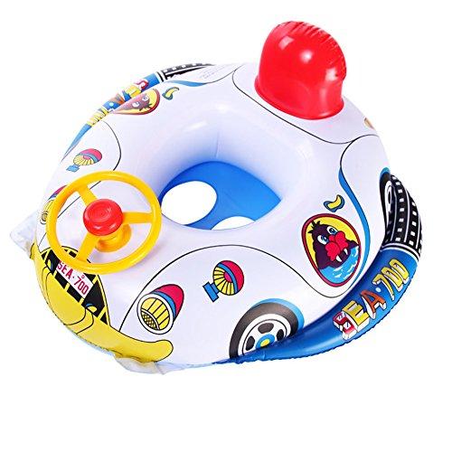 Children's seat aircraft boat cartoon swim ring / lifesaving ring/inflatable swim ring