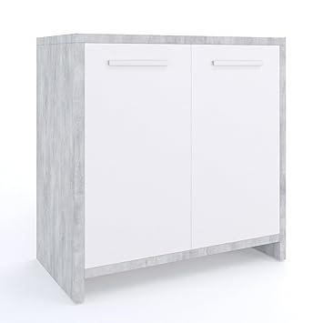 VICCO Badezimmerschrank KIKO Unterschrank Waschbeckenunterschrank ...
