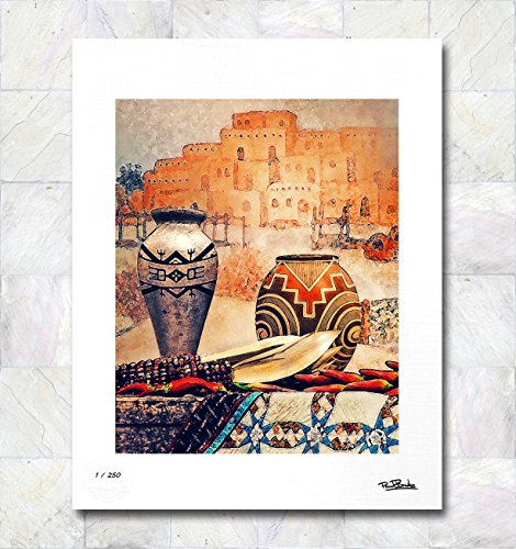 South West Pottery Limited Edition Signed Fine Art Print By Paul Brake