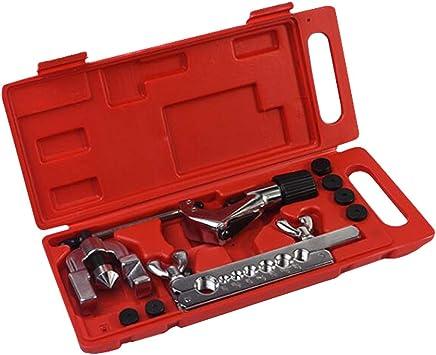 Perfeclan 5 16mm Bördelgerät Bremsleitung Bördelwerkzeug Bördelset Mit Rotem Aufbewahrungskoffer Baumarkt