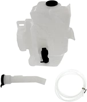 New Windshield Washer Tank For 2011-2015 Chevrolet Cruze With Pump Includes Filler Tube GM1288166