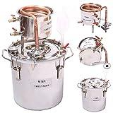 New Copper 8 Gal 30 Litres Alcohol Moonshine Still Spirits Distiller Brew Home Kit Spirits Boiler