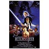 "Star Wars: Episode VI - Return Of The Jedi - Movie Poster (Regular Style) (Size: 24"" x 36"") (Poster & Poster Strip Set)"