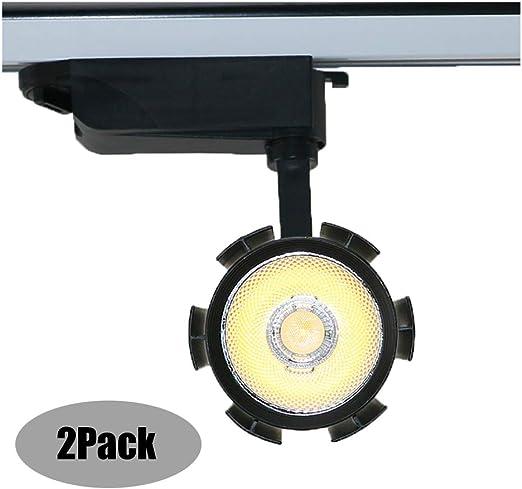 Proyector LED COB 15 vatios IP42 1500LM Negro para Soporte de ...
