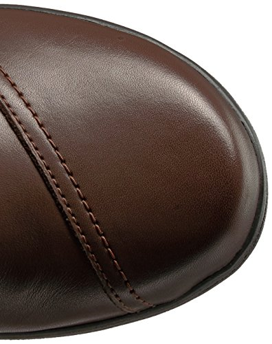 Leather Boot Dark Knee Cheyn Clarks Wide Brown High Dark Brown Calf Women's Whisk O14f0nq7