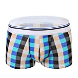 YOcheerful Men Sexy Underwear Shorts Breathable Trunks Pants Underpants Pouch Soft Breathable Briefs Panties