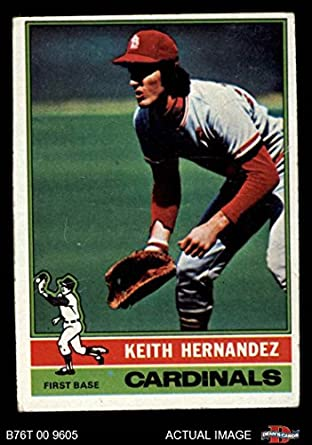 Amazoncom 1976 Topps 542 Keith Hernandez St Louis