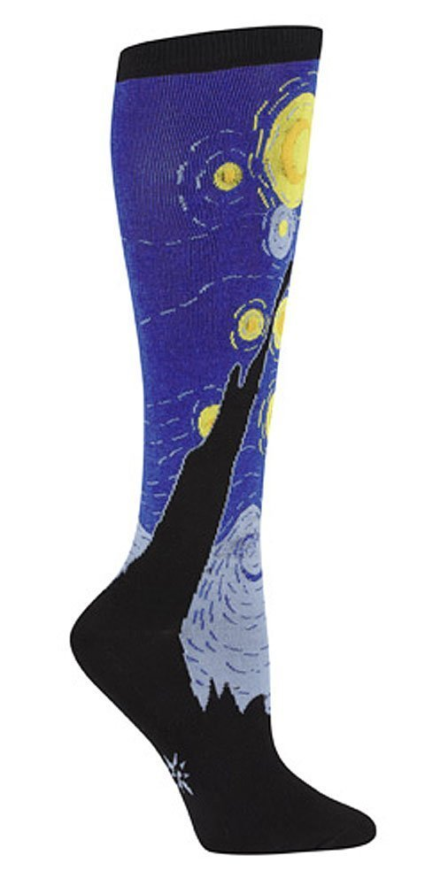 Sock It To Me Starry Night Knee High Calcetines: Amazon.es: Juguetes y juegos