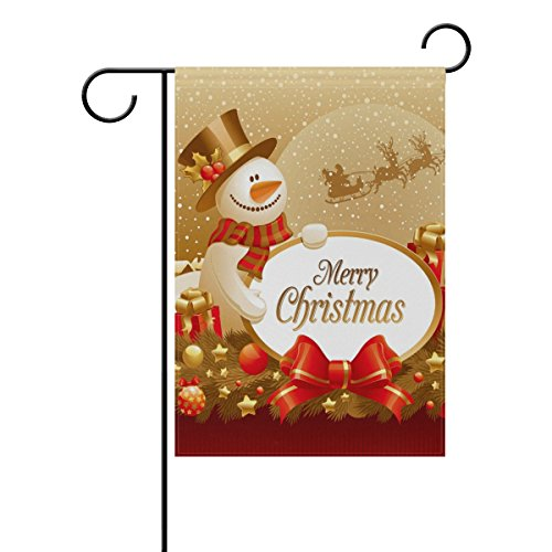 christmas snowman santa clause double