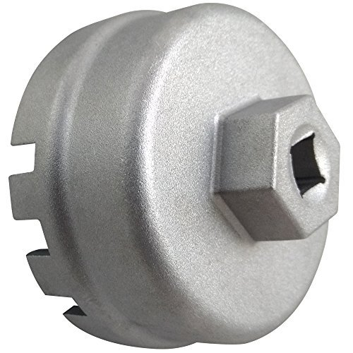 Caldera Toyota Oil Filter Wrench For 1.8Liter Toyota, Lexus, and Scion Vehicles - Compatible with 64mm Oil Filter Cartridges and Caps On Corolla, Prius, Matrix, CT200h, iQ, and XD by Caldera