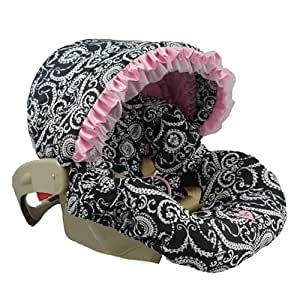 Amazon.com : Infant Car Seat Cover with Canopy Color: Mid