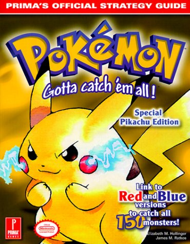 Pokemon Yellow (Prima's Official Strategy Guide) (Guide Strategy Pokemon Red)