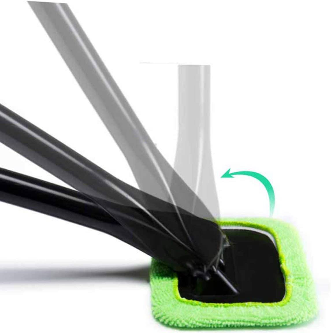 Cleaning Tool Auto Windshield Microfiber Brush Car Window Cleaner Long Handle