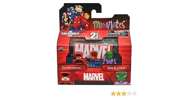 Marvel Minimates série 43 Daredevil /& Sin-Eater