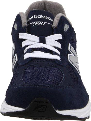 New Balance - Zapatillas para deportes de exterior para niño - Navy with Grey & White