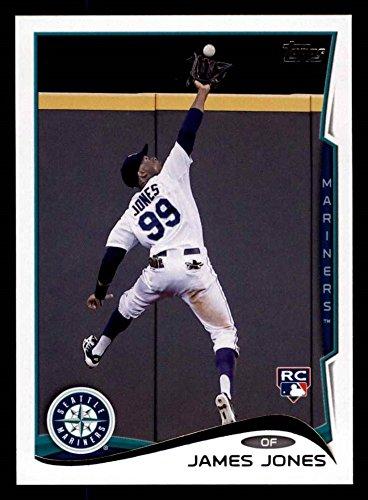 2014 Topps Update # 147 James Jones Seattle Mariners (Baseball Card) Dean's Cards 8 - NM/MT Mariners