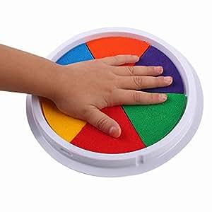 Muñecas Ywoow, 6 Colores, Almohadilla de Tinta para Hacer ...