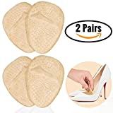 Keklle 2 Pairs of Foot Pads High Heel Insoles for Women Metatarsal Pads Ball of Foot Cushion Heel Insoles Pads for Women Shoe Inserts fit Gel Foot Pads Support Diabetic Prime