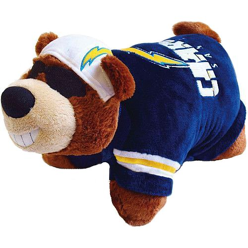 San Diego Chargers Bedding - NFL San Diego Chargers Mini Pillow Pet, Medium, Blue
